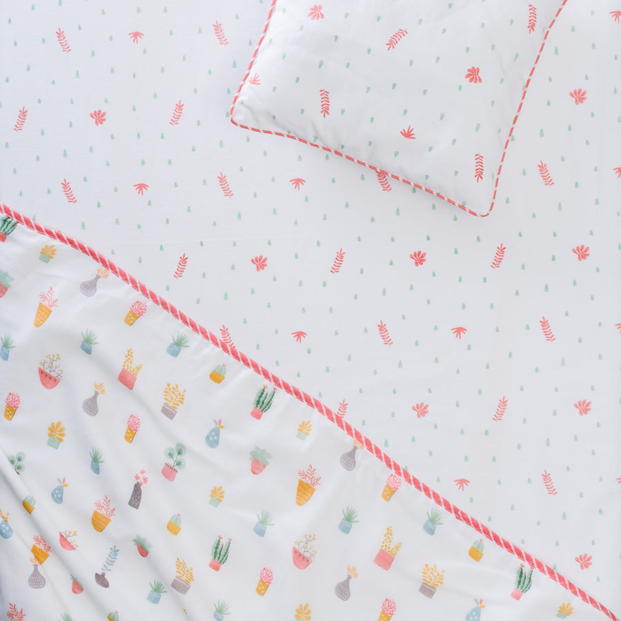 Bloom Fitted Cot Sheet