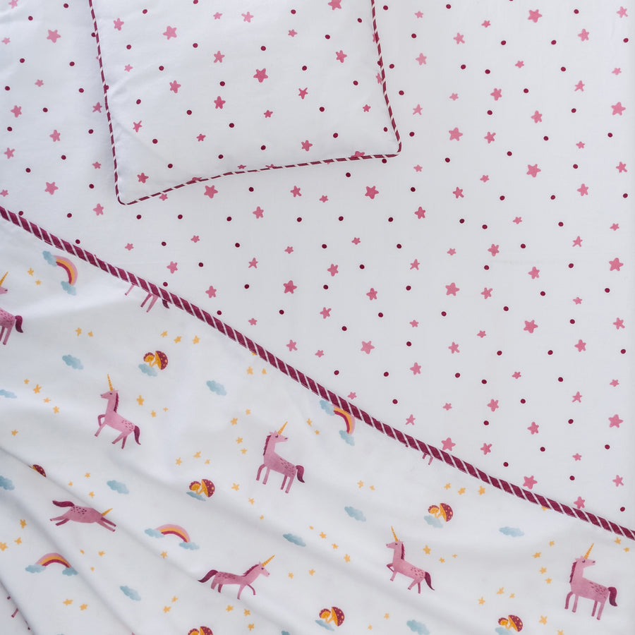 Believe In Magic Fitted Cot Sheet