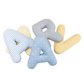 Personalised Alphabet Letter Plushies (Boy)