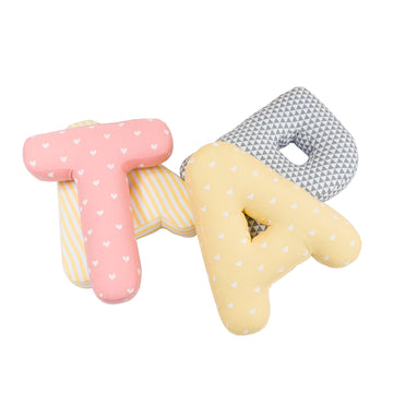 Personalised Alphabet Letter Plushies (Girl)