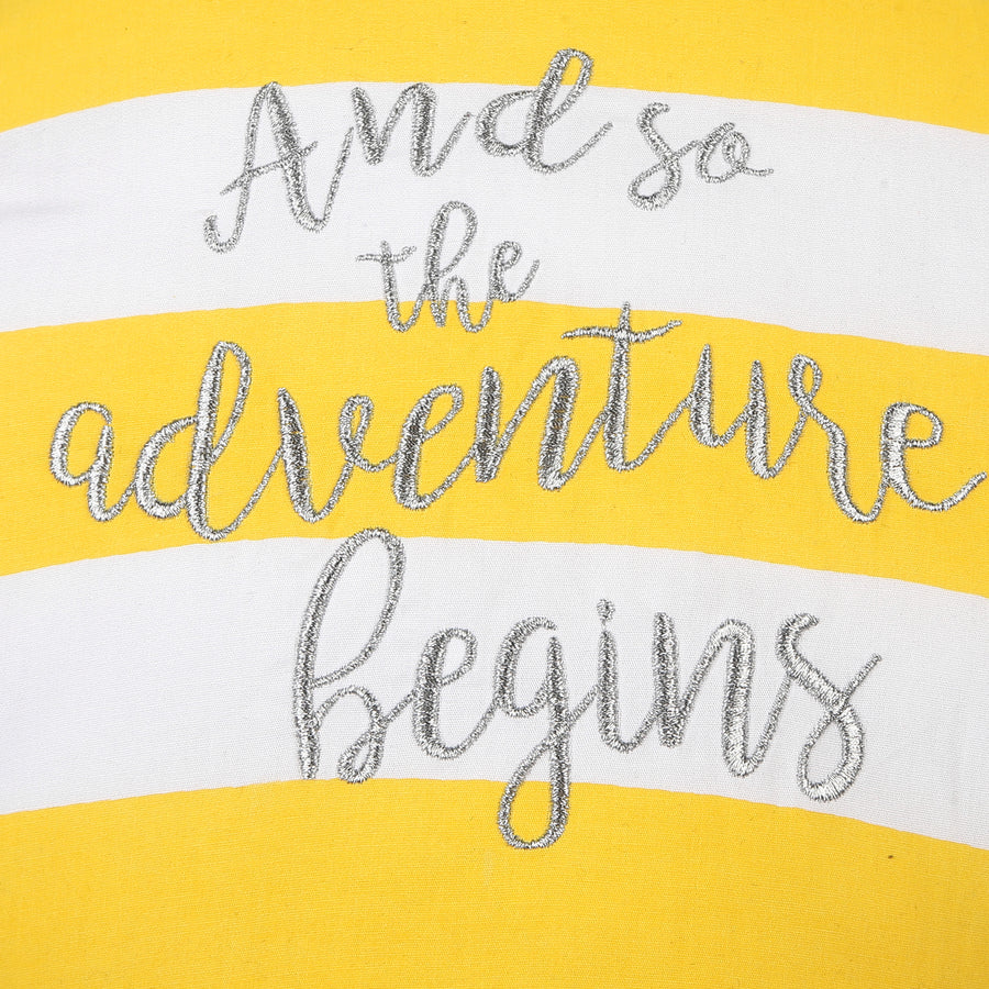 Adventure Balloon Yellow Striped