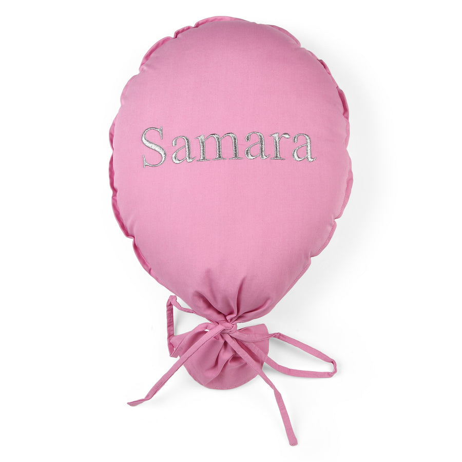 Personalised Balloon Pink