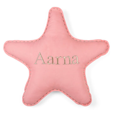 Personalised Star Pillow Corel