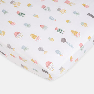 Bloom Fitted Cot Sheet 2