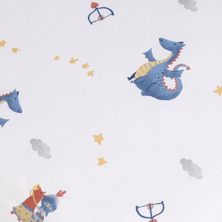 Knight In Shining Armour Fitted Cot Sheet 2