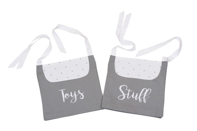 Toys And Stuff Cot Storage Bags