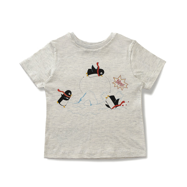 The Swimming Penguin Tee