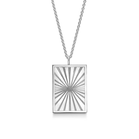 Lumen Necklace Large Silver