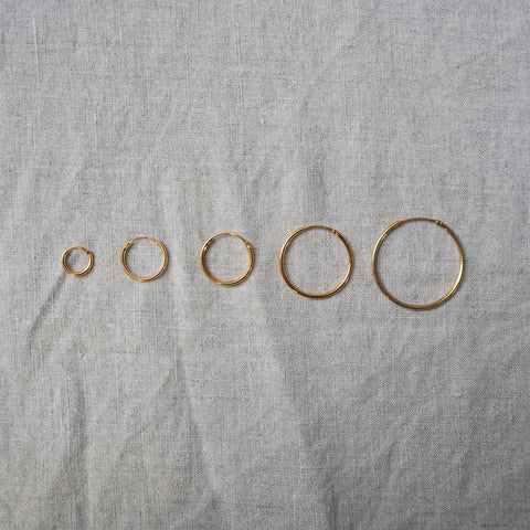 Hoops Goldplated