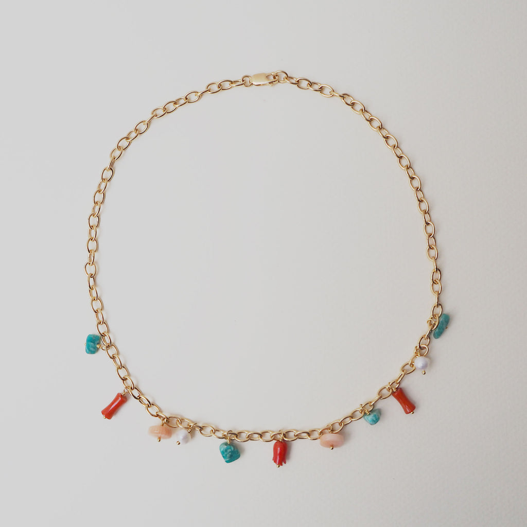 Hera Candy Necklace Gold