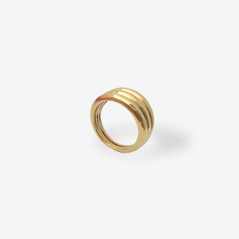 Hera Triple Ring Gold