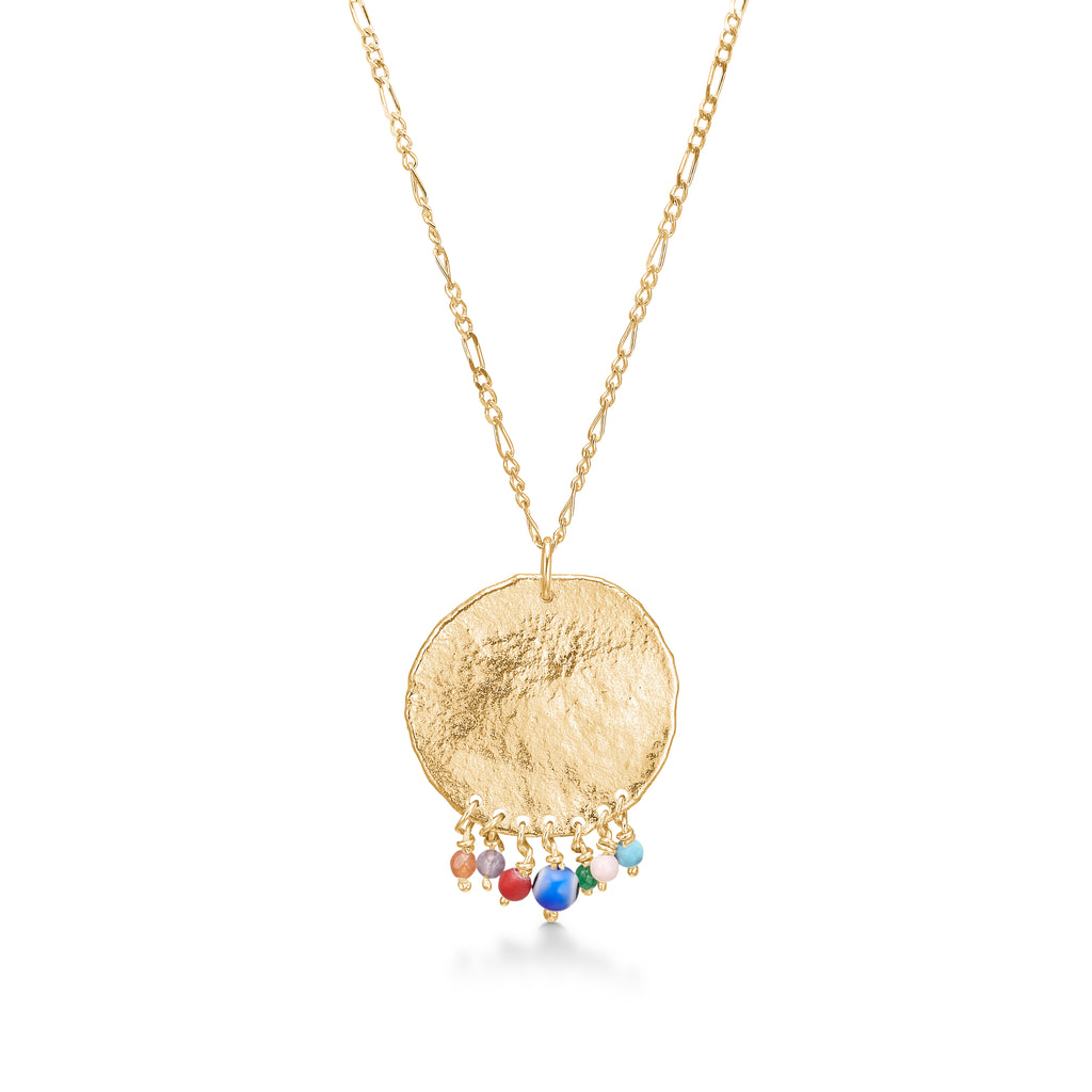 Bali Tassel Necklace Gold
