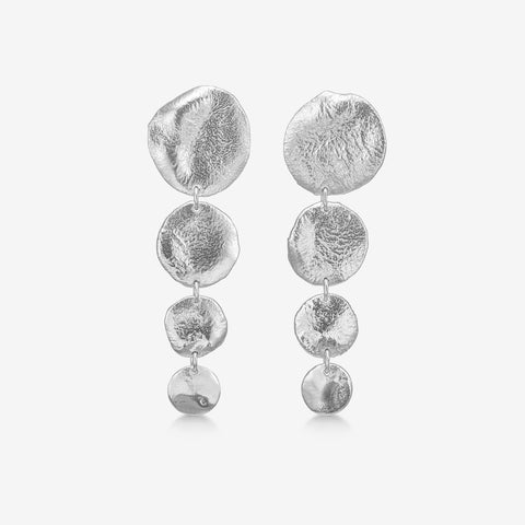 Bali Statement Earring Silver