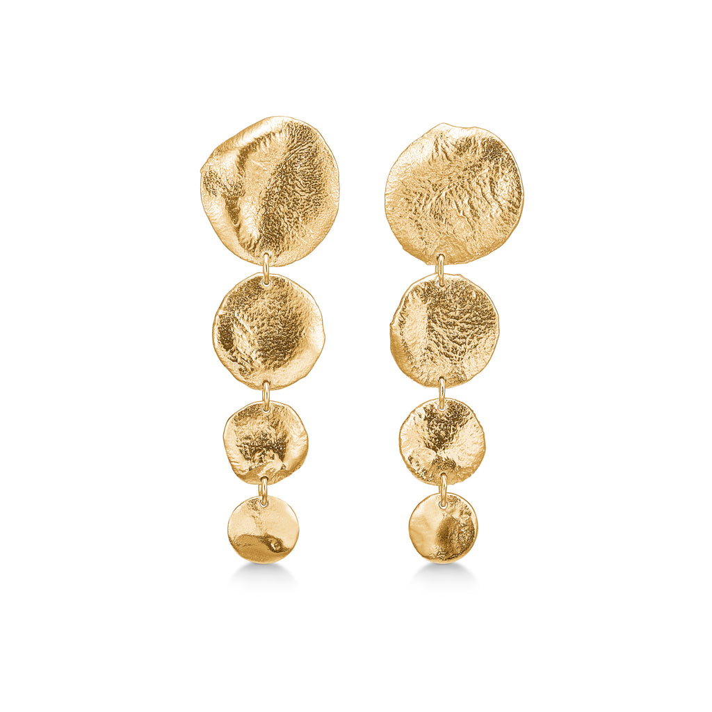 Bali Statement Earring Gold