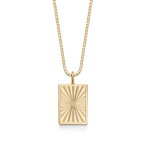 Lumen Necklace Small Goldplated