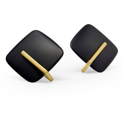 Soho Earrings with 18ct gold plate