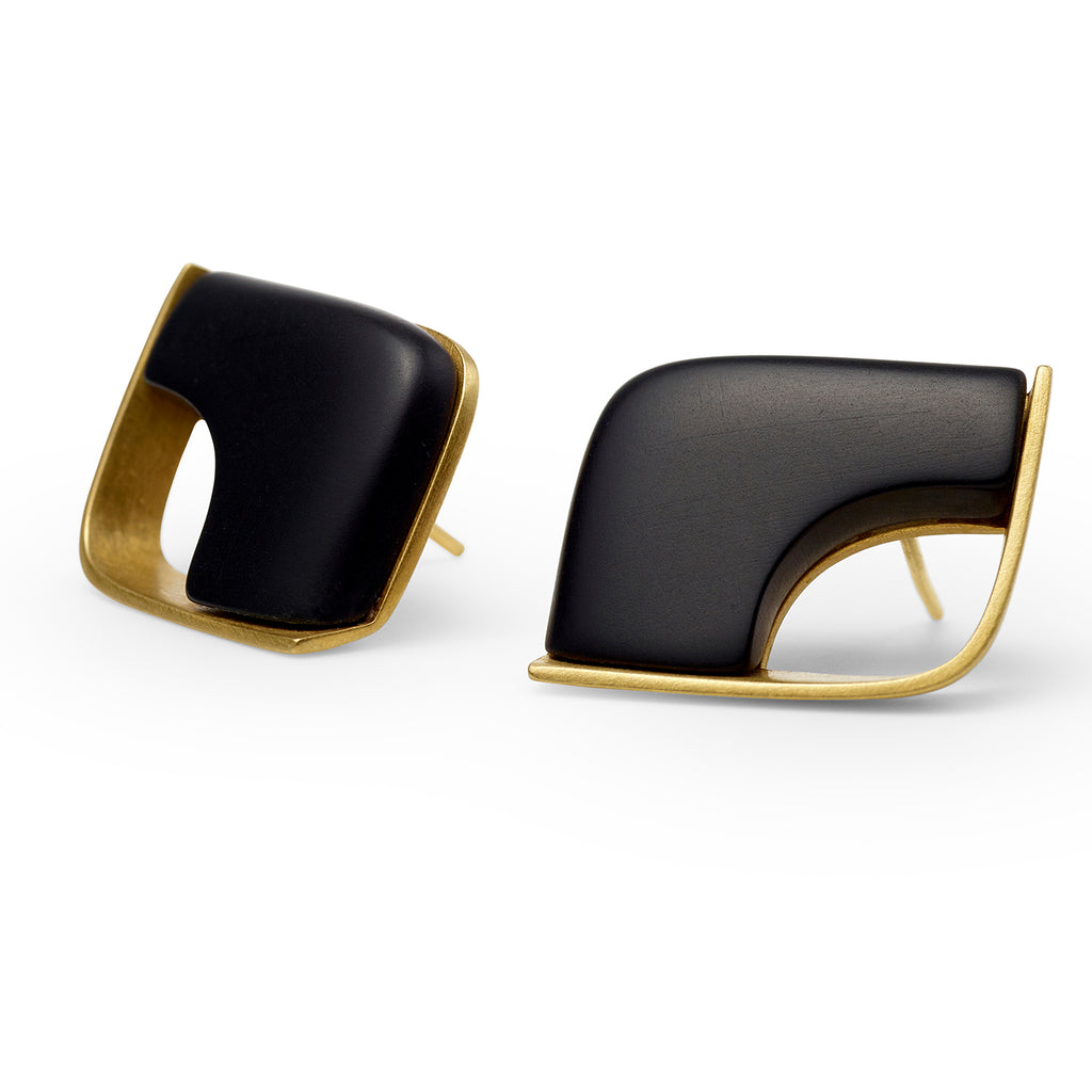 Vuto Earrings with 18ct Gold Plated Silver