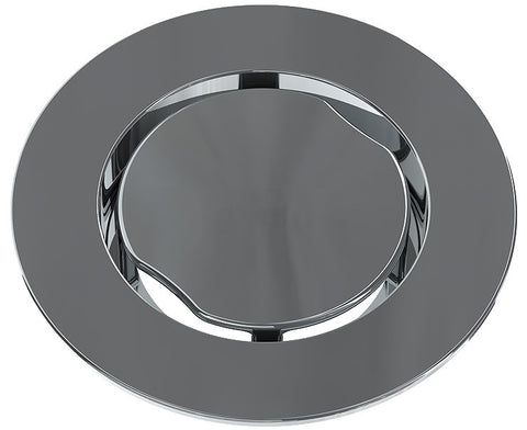 "BCS.100.11 - 4"" Serenity Round Shower Drain Top - Chrome Plated"
