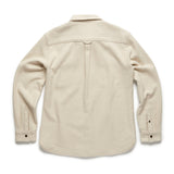 Dylan Heavy Twill Beach Utility Shirt - Jet Stream