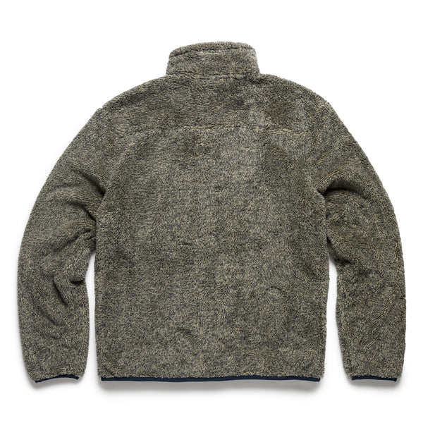 Big & Tall Two-Tone Sherpa Jacket - Navy/Flint Grey