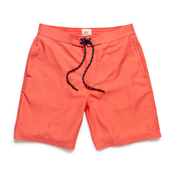 Sami Retro 4-Way Stretch Trunk - Coral