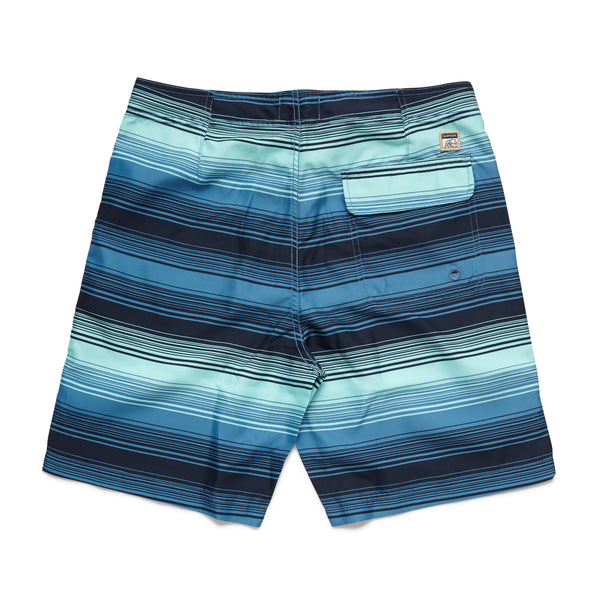 Ocean Wave Boardshort - Aruba Blue
