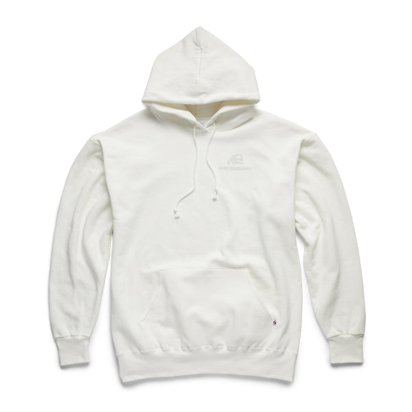 Heavy Fleece SURF Pullover - White
