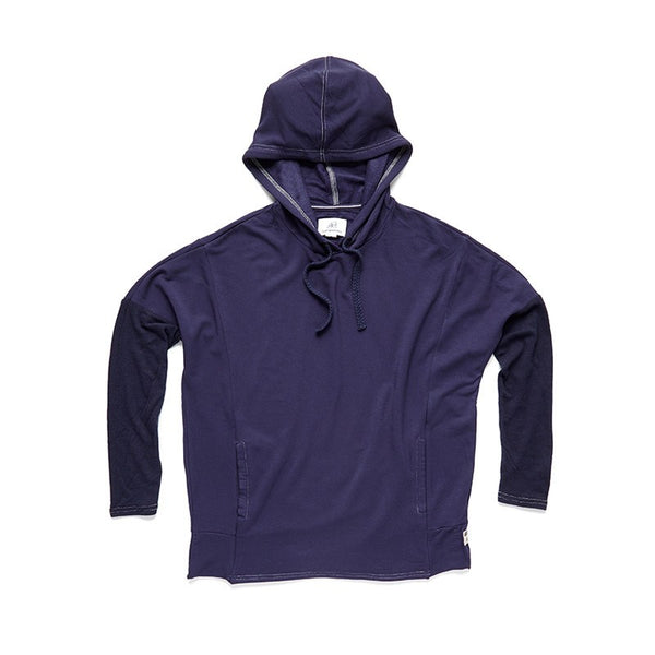 Longsleeve Drapey Fleece Pullover - Surfside Supply Co.  - 1