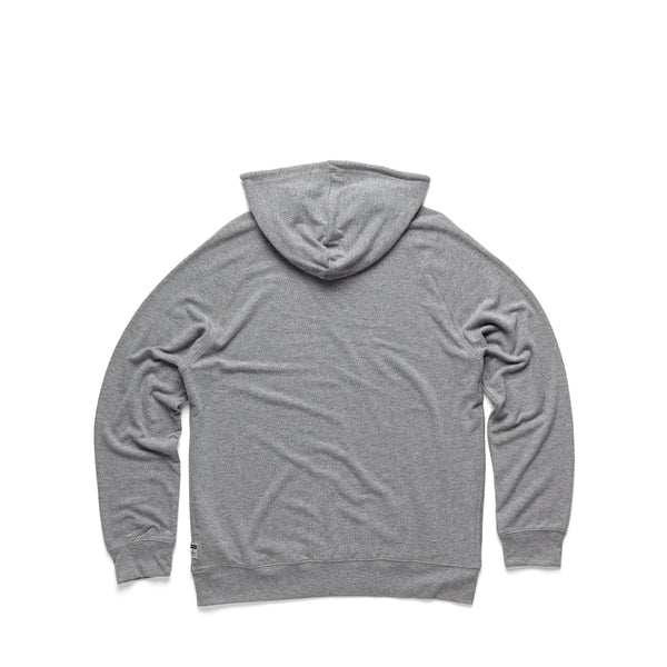 FLEECE - L/S Soft Popover Hoodie - Heather Grey
