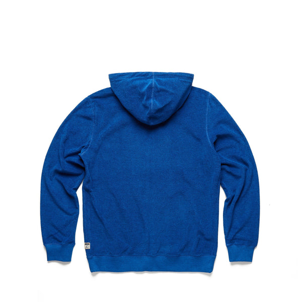 FLEECE - Saltwater Terry Full Zip Hoodie - Turkish Sea