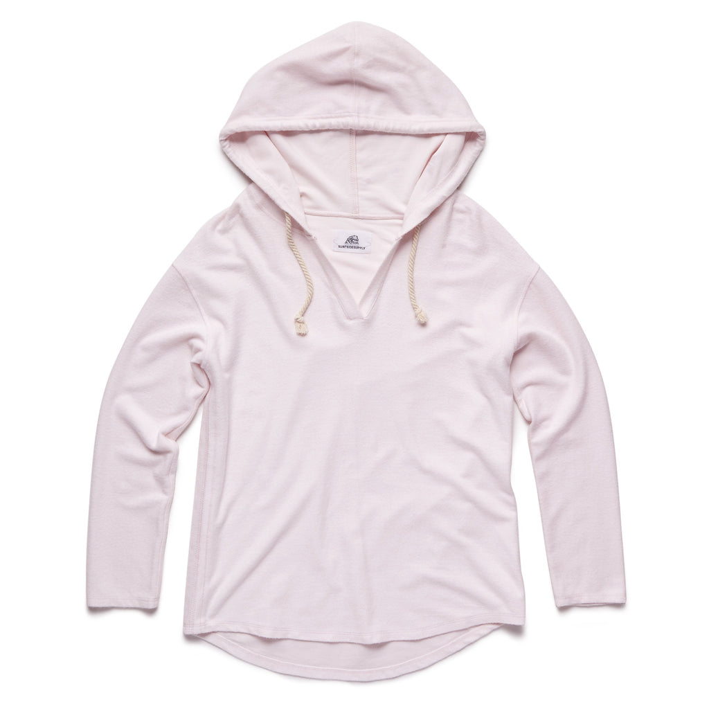 FLEECE - Soft V-Neck Hoodie