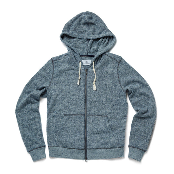 Towel Terry Full Zip Hoodie - Surfside Supply Co.  - 1