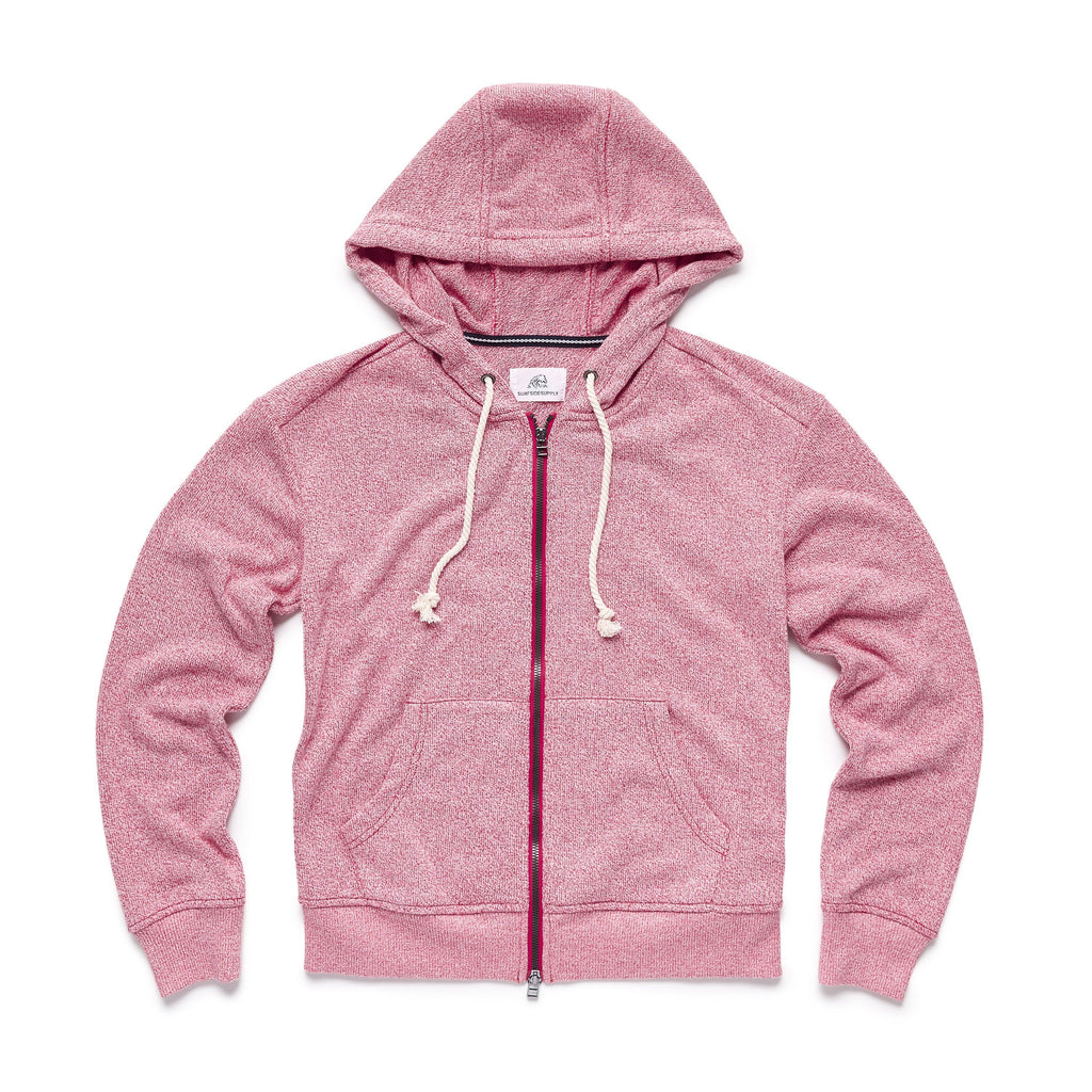 FLEECE - Towel Terry Full Zip Hoodie