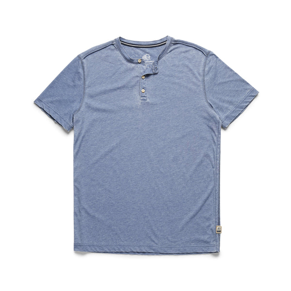 HENLEYS - S/S Burnout Henley - Navy