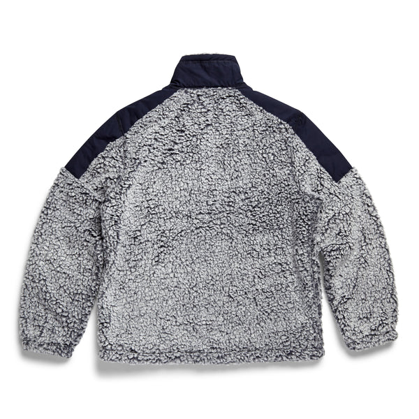 OUTERWEAR - L/S Frosted Fleece Jacket - Navy