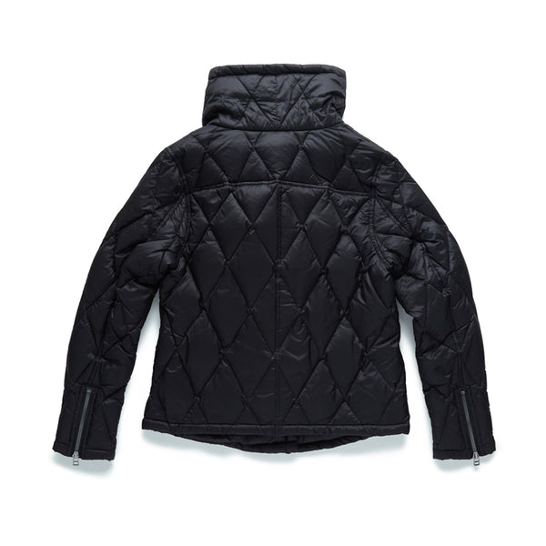 Nylon Asymmetrical Quilted Jacket - Surfside Supply Co.  - 2