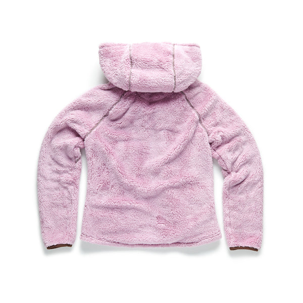 Sherpa Fleece Full Zip Jacket - Mauve Mist - Surfside Supply Co.  - 2