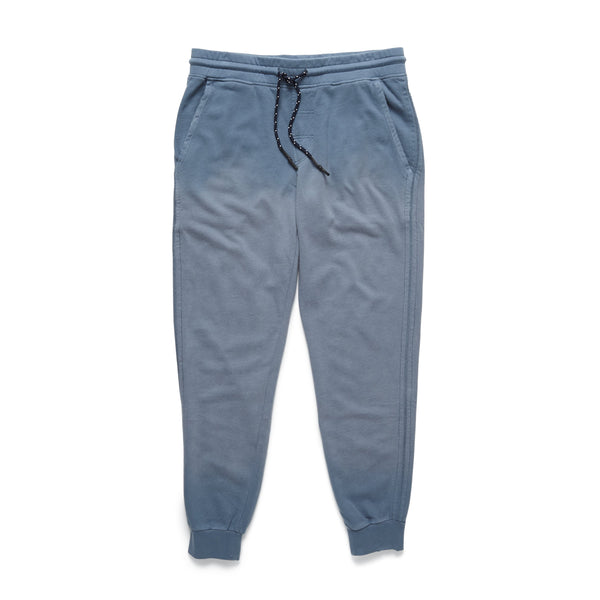 PANTS - Garment Dyed Fleece Faded Jogger - Flint