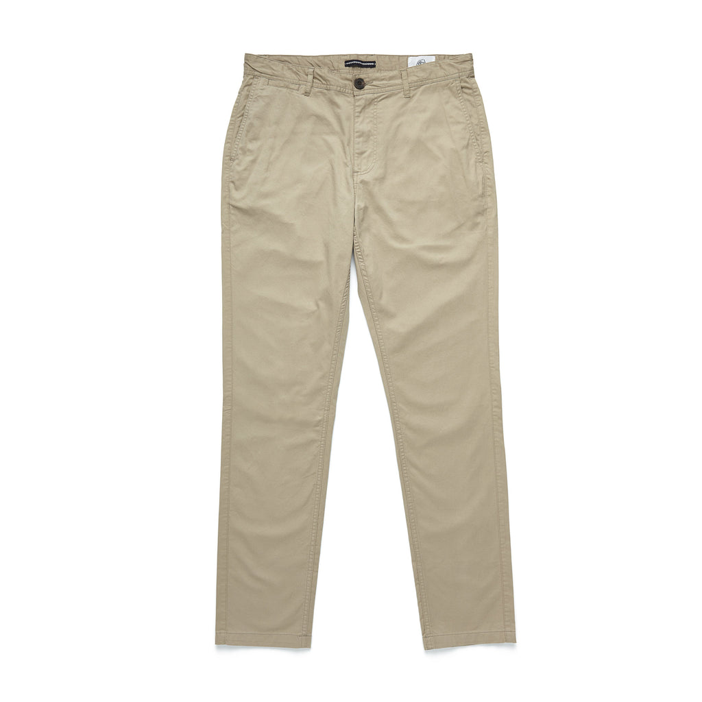 PANTS - Lt. Weight Flat Front Pant - Chinchilla