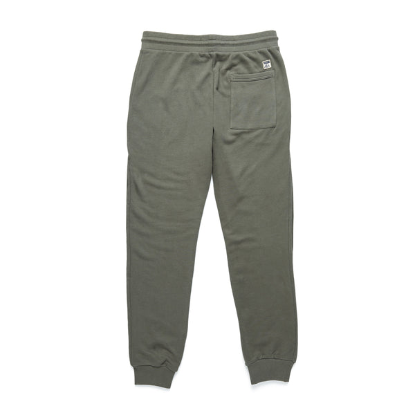 PANTS - Suede Fleece Jogger - Beetle Green
