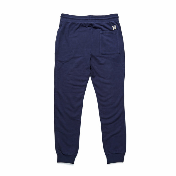 PANTS - Suede Fleece Jogger - Navy Blazer