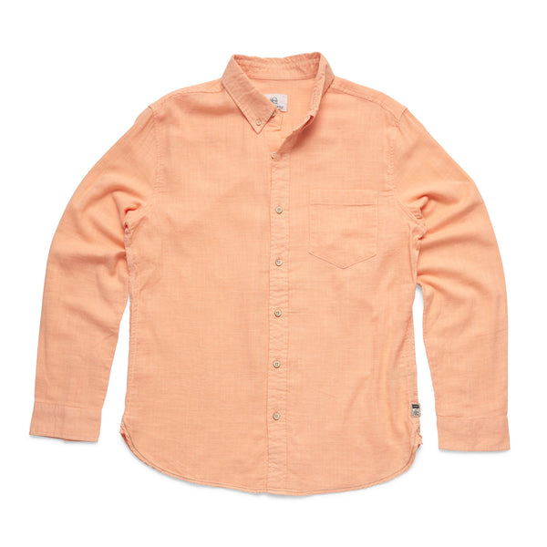 SHIRTS - L/S Slub Cotton Shirt - Prairie Sunset