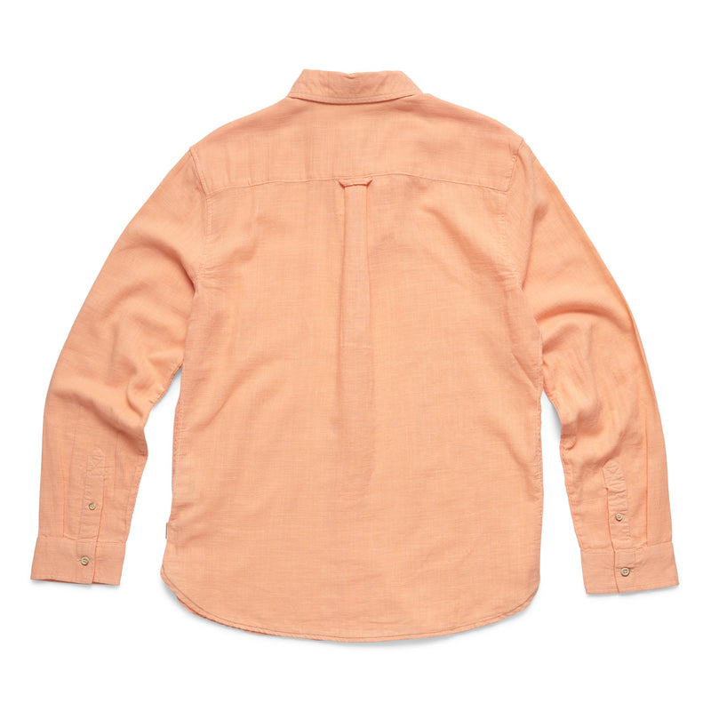 L/S Slub Cotton Shirt - Prairie Sunset