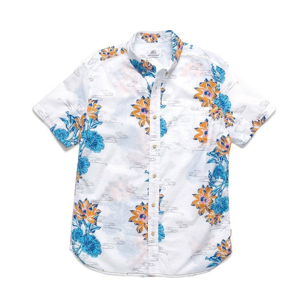 SHIRTS - S/S Lotus Blossom Shirt - Bright White