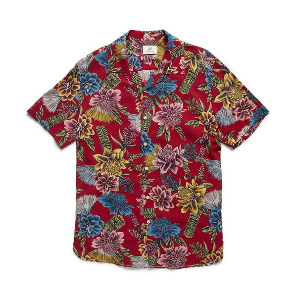 S/S Tropical Camp Shirt - Scooter