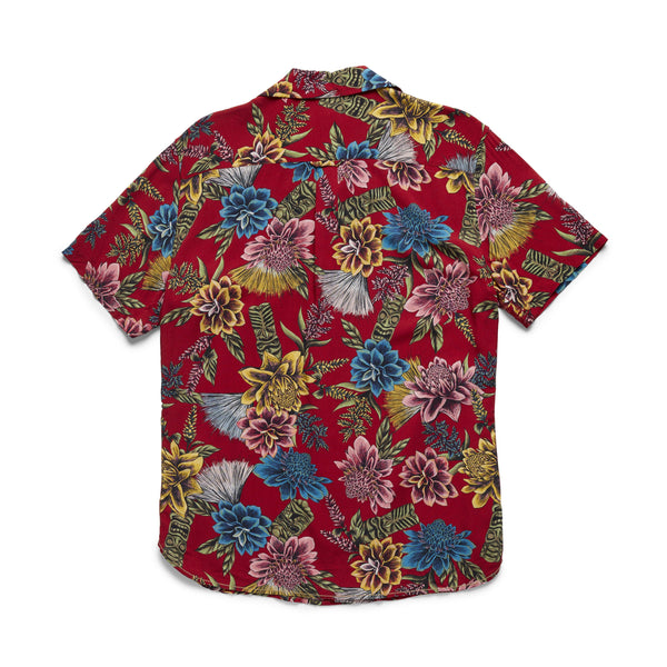 SHIRTS - S/S Tropical Camp Shirt - Scooter