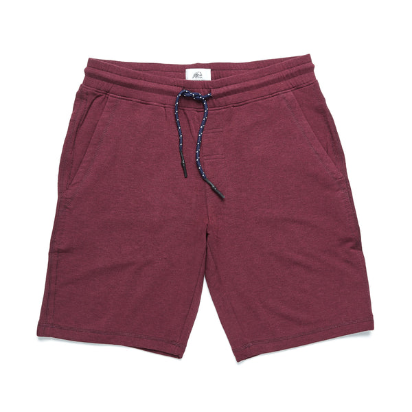 SHORTS - Brushback Fleece Short - Fig Heather