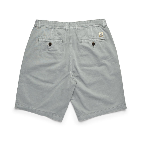 SHORTS - Flat Front Short - Mirage Grey