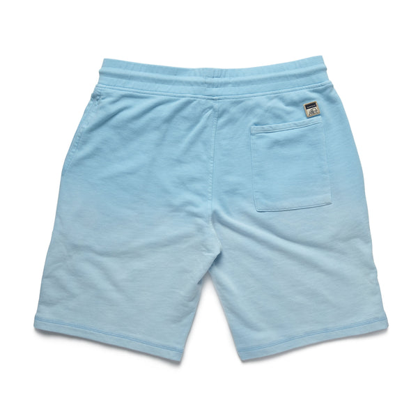 SHORTS - Garment Dyed Faded Short - Aqua