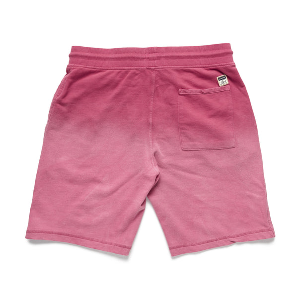 SHORTS - Garment Dyed Faded Short - Washed Red
